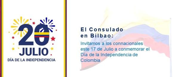 Con una misa el Consulado en Bilbao invita a conmemorar la Independencia