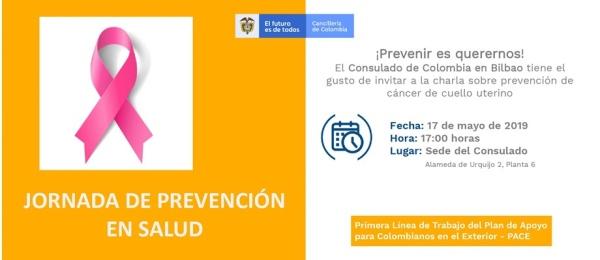 Este 17 de mayo participe de la Jornada de Prevención en Salud organizada por el Consulado de Colombia