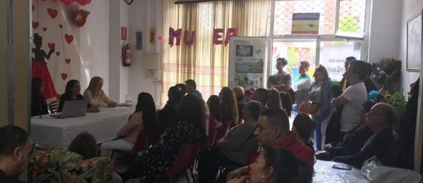 Consulado de Colombia en Bilbao realizó el taller Respuestas positivas y saludables en la adaptación